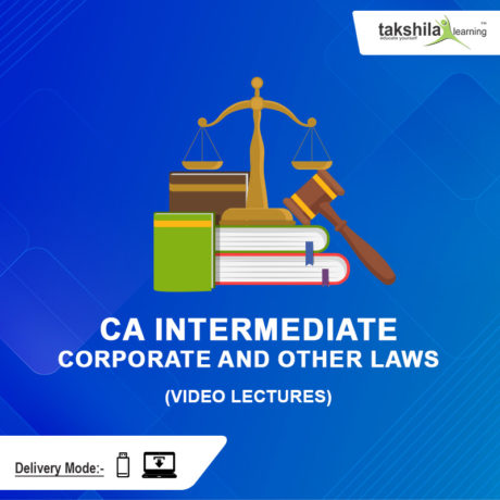 Paper 2 : CA Inter Corporate and Other Laws Video Lectures & Corporate and Other Laws online classes