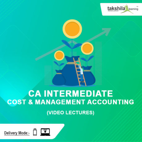 Paper 3 : CA Inter Cost and Management Accounting Video Lectures