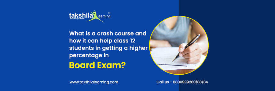 Is A Crash Course Can help class 12 Students