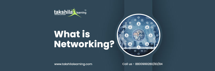 What is networking? What are 4 types of networks