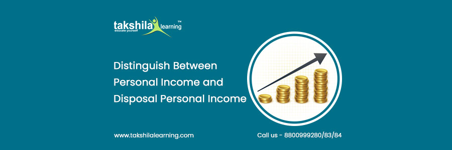 What is the difference between personal income and disposable income?