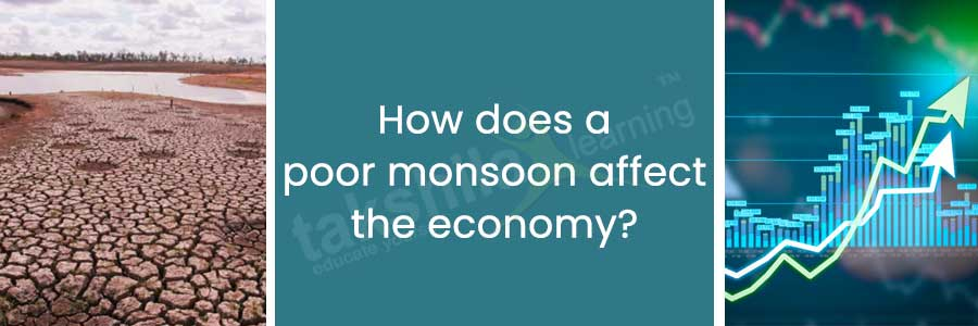 poor monsoon affect the economy
